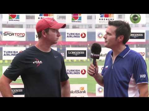 Archery World Cup 2011 - Shanghai Stage 4 - Flash Interviews Day 3