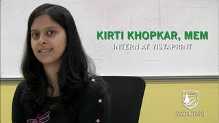 Dartmouth Engineering Student Internship: Khirti Khopkar