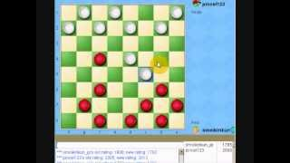 fourth game great American checkers player in yahoo games USA