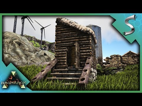 THE MOST IMPORTANT PART OF ANY FARM - BUILDING THE TOILET! - Ark: RAGNAROK [DLC Gameplay S3E48]