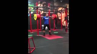 Dmitry Klokov - 250kg slow squat with pause