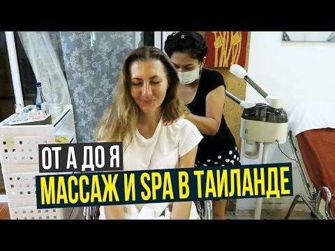 Различные виды массажа и их описание