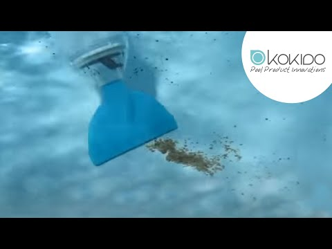 Balai de piscine aspirateur skooba vac noir jaune kokido for Aspirateur piscine youtube