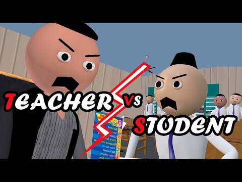 MAKE JOKE ON - टीचर  Vs स्टूडेंट  (Teacher Vs Student) | Tickle Finger