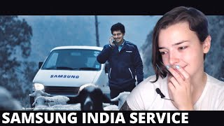 Samsung India Service (SVC) Ad REACTION! | Indi Rossi