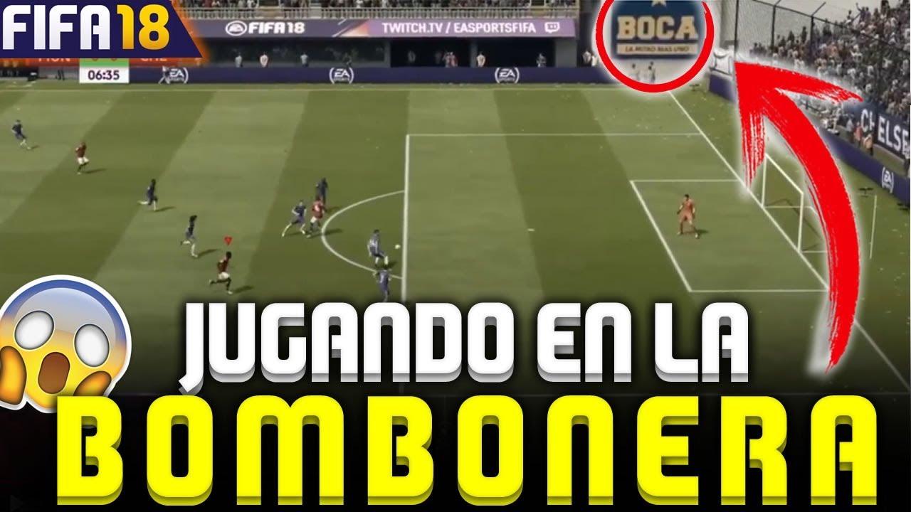 Fifa 18 jugando en la bombonera gameplay hd youtube for Esteban paredes fifa 18