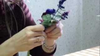Мастер-класс: изготовление бутоньерки жениха