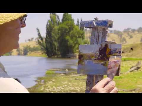 Ken Knight Australian Plein-air Artist Masterclass Excerpt