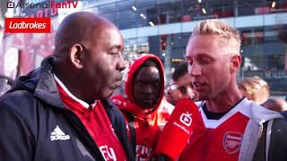 Arsenal 3-0 bournemouth | lee gunner slams fans who booed alexis sanchez!