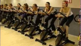 Cycle в Powerhouse Gym.avi