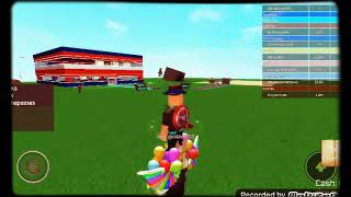 I turned a super and went on the ROBLOX (superhero Teyraccoon)