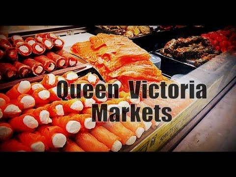 Queen Victoria Market Melbourne Australia Travel Vlog