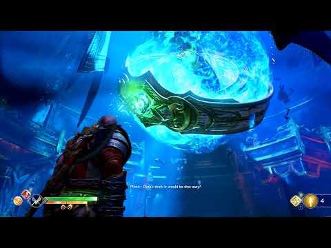 GOD OF WAR Walkthrough Gameplay Part 17 - The Black Rune (God of War 4)