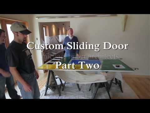 Custom Glass Sliding Door Part 2