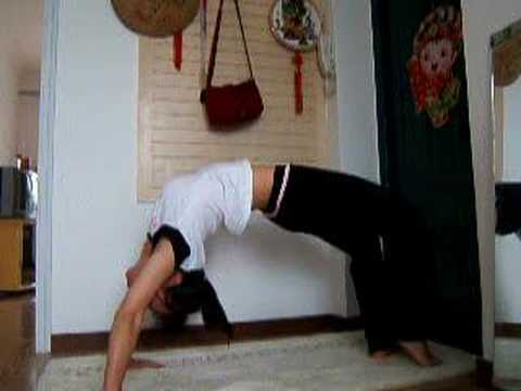 yogasingle leg wheeleka pada urdhva dhanurasana  youtube