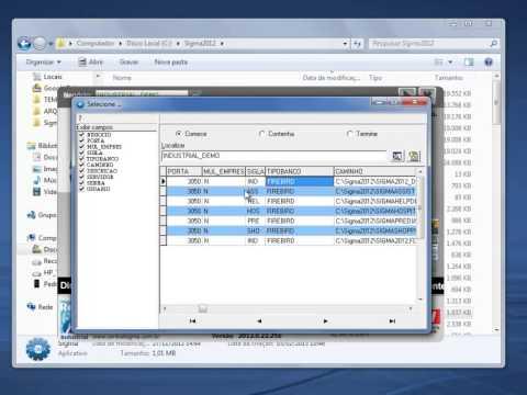 Instalação e Configuração do Sigma 2012 - Sistema de Gestão de Manutenção