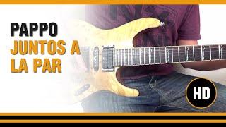 Como Tocar Juntos a la par de Pappo en Guitarra electrica  CLASE TUTORIAL