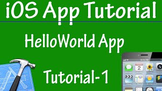 Free iPhone iPad Application Development Tutorial 1 - Hello World in App in iOS