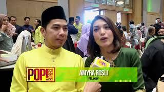 Amar Baharin & Amyra Rosli   Rumah Terbuka Media Prima Berhad   Pop Express
