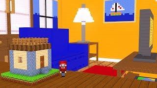 Wir bauen das größte Minecraft Haus! (18000 Blöcke) 😊