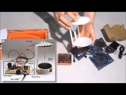 Unboxing Acoustic Levitator Arduino KIT
