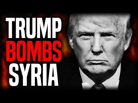 Why Did President Donald Trump Bomb Syria ? The Inside Scoop / Story