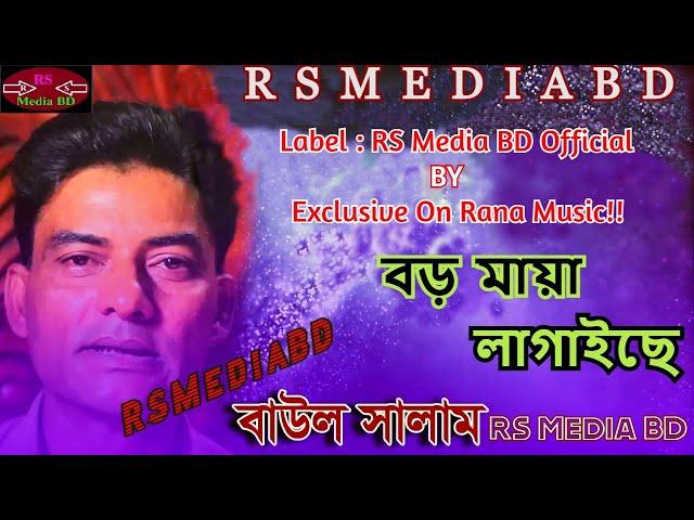 বড় মায়া লাগাইছে | Boro Maya lagaiche By Baul Salam Bangla Song