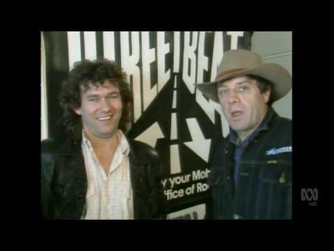 Countdown (Australia)- Molly Meldrum Interviews Jimmy Barnes- November 23, 1986