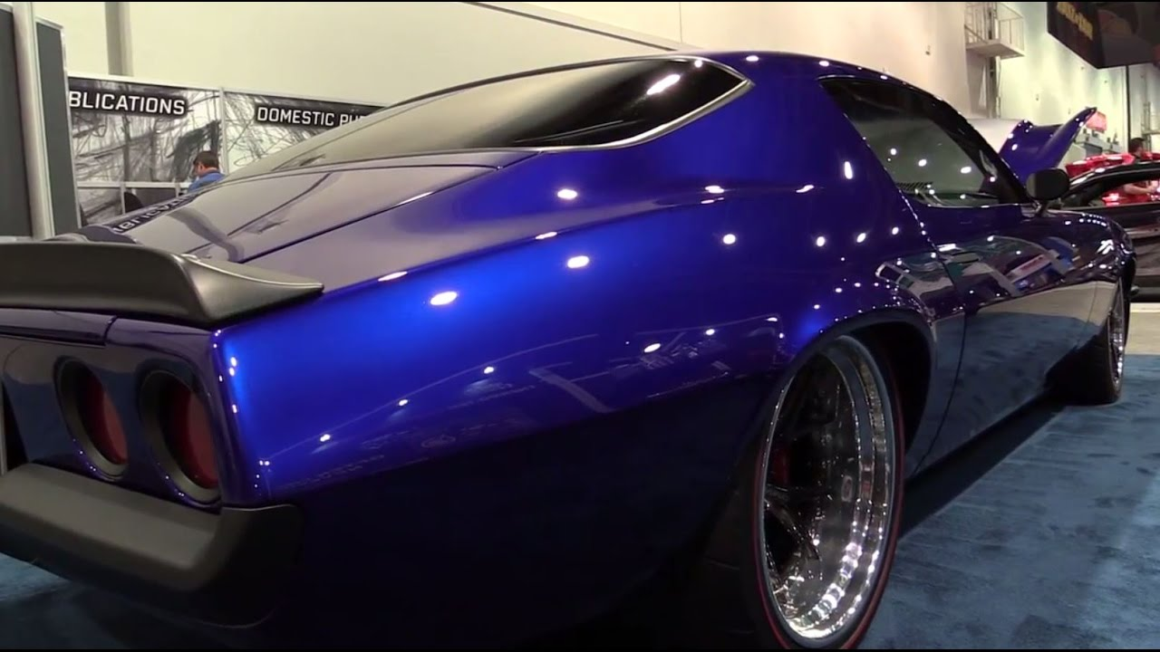 A PPG Painthouse Finish on the GAP Racing built 'Enigma' Camaro