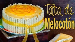 Receta de tarta de melocotón y canela