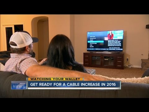 Cable rates to go up in 2016