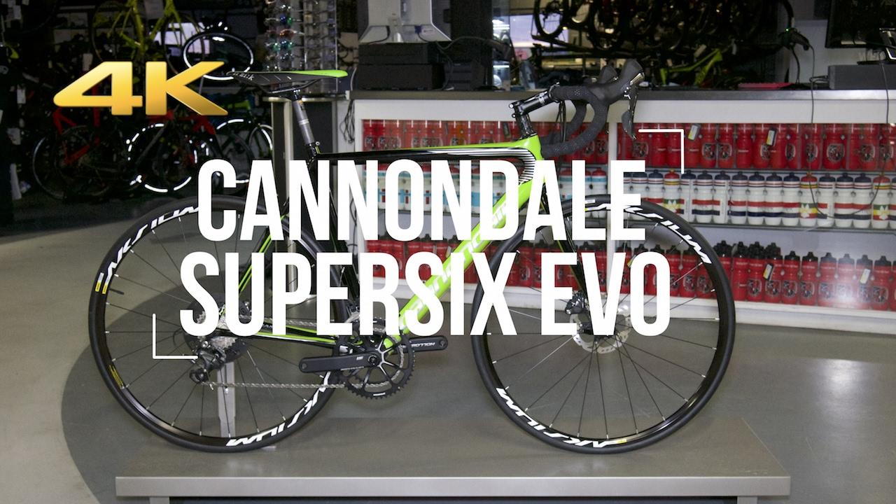 2017 CANNONDALE SuperSix Evo Hi-MOD Disc + Actual Weight! - YouTube