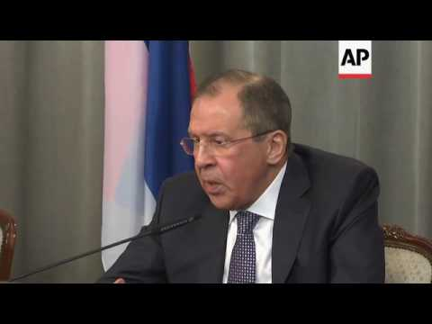 Lavrov denies agreement with US on Assad's fate