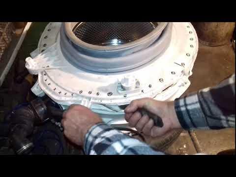 Как заклеить бак стиральной машины