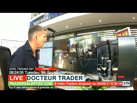 Emission Hello Traders du 5 Septembre 17