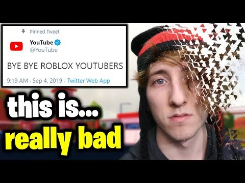 YouTube Might Be BANNING All Roblox Videos    - YouTube