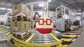Découvre le secret de Mini Babybel –  visite 360° de l'usine !