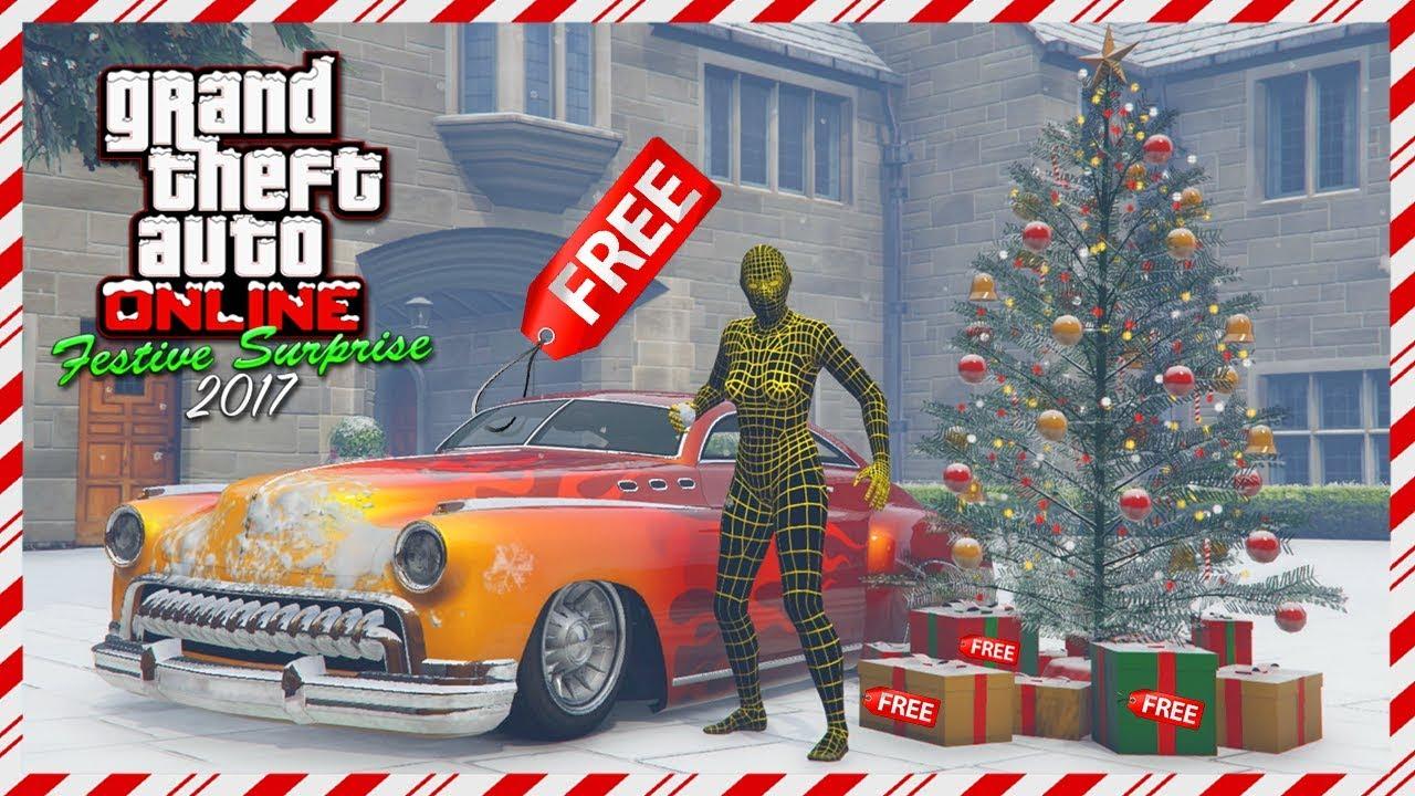 gta online festive surprise 2017 dlc free vehicle new super car - Gta V Christmas
