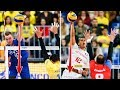 TOP 30 Line Shot Line Spike Best Volleyball Attacks Over The Line World League 2017