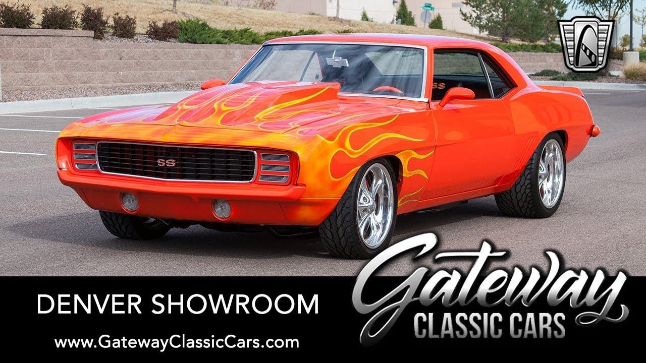 Classic Cars Denver >> 1969 Chevrolet Camaro Gateway Classic Cars Denver 654