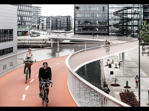 Bicycle Highways Get Green Light