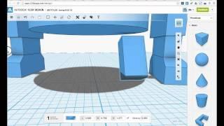 Autodesk 123D Design для начинающих роботехников