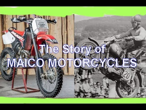The Story of Maico Motorcycles (Documentary)