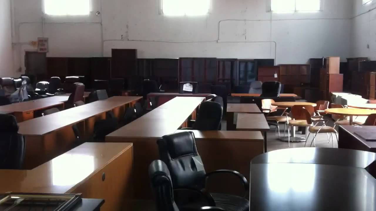 used office furniture NEW and USED Office Furniture in Miami - YouTube