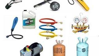Оборудование для заправки кондиционеров, часть 1, (посылка).