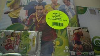 Öffne ein Blister Adrenalyn XL Road to World Cup Brazil 2014