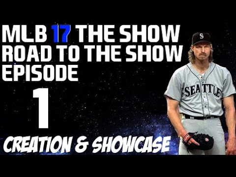 MLB 17 The Show {PS4} - Randy Johnson Road to the Show - Re-Creating the Big Unit!