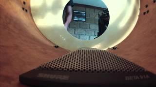Tutorial Shure Micrófono Beta 91A para bombo.