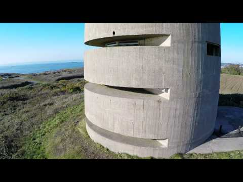 MP3 and MP4 German Observation Towers, Guernsey
