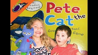 Pete the Cat Groovy Buttons Game! galaxyKids family fun videos.